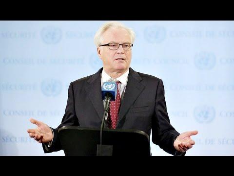 """ВИДЕО: Чуркин: """"Вы что? Себя богами возомнили"""" , НАТО испугалось такому заявлению !"""