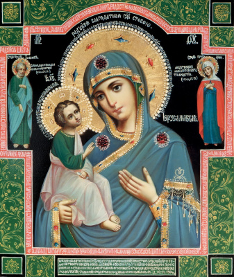 Икона Божьей Матери «Иерусалимская»