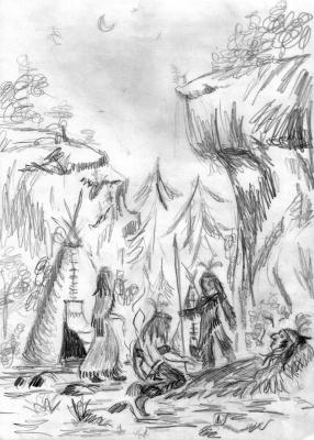 Предсказание индейского вождя