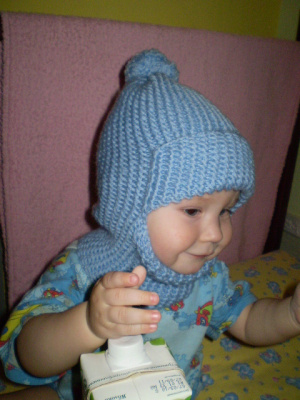 шапка-шлем для моего богатыря
