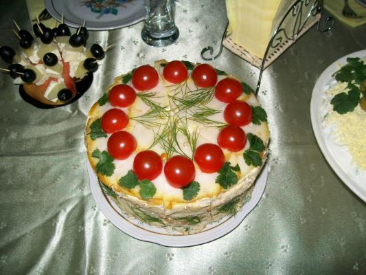 """""""Тортик"""" закусочный."""