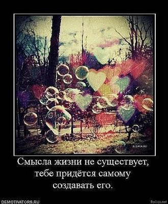 О смысле жизни