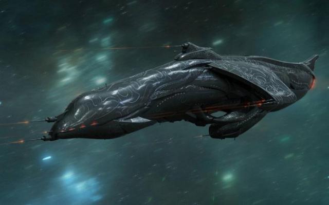 Инопланетный корабль