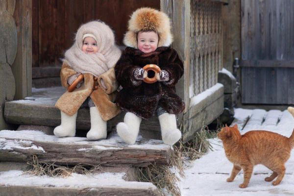Зимние посиделки...