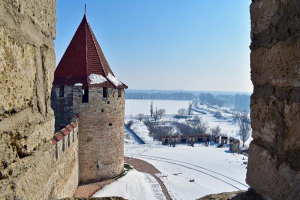 Вид из Бендерской крепости