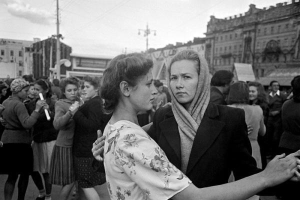 Праздник в Москве. 1947 год
