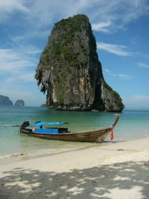 Таиланд, Краби, пляж Рейлей