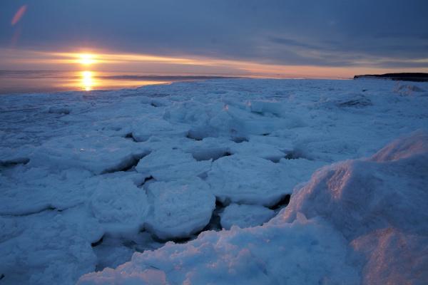 Апрель уплывающей льдиной уходит ...