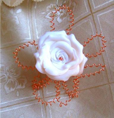Роза в меди-1   (Дизайн от Ирины)