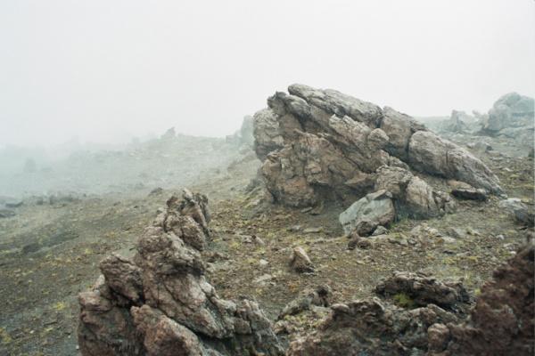 На марсе...) район вулкана Безымянного. Камчатка