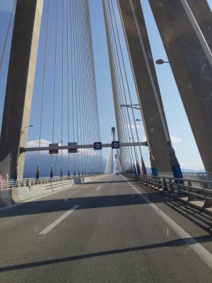 Мост ,Греция, трасса Олимпийская