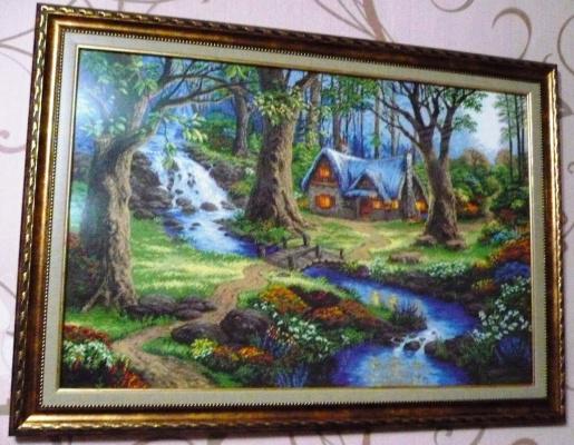 Домик у ручья