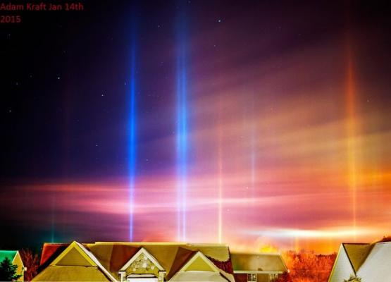 Световые столбы