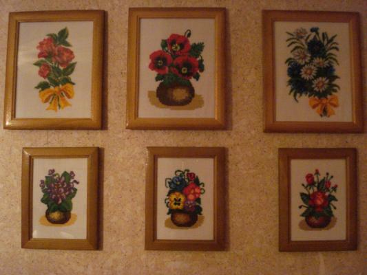 Люблю цветы не только в саду