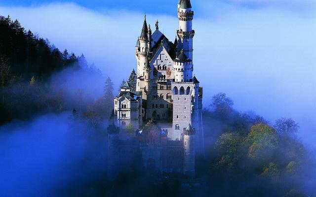 Замок Нойшванштайн.Германия