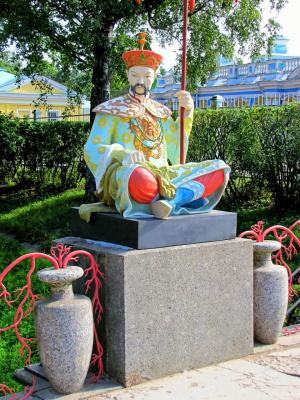 А как же мы все забыли про Китайскую деревню в Царском Селе? (+ 4 снимка)