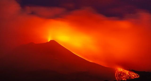 огонь и ярость Этны