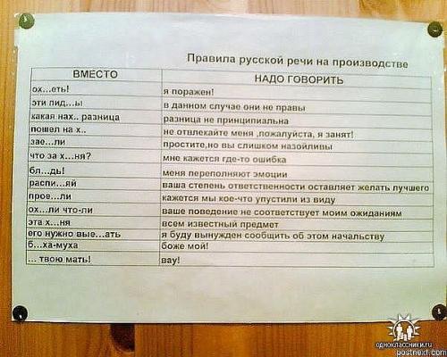 Правила русской речи
