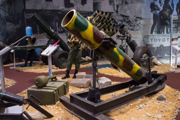 """Трофейное оружие из Сирии на форуме """"Армия-2018"""