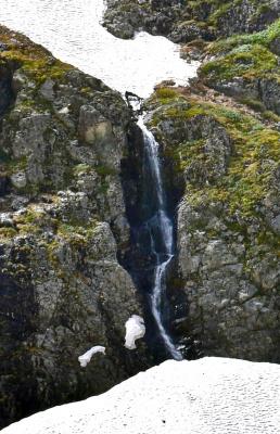 Временный водопад