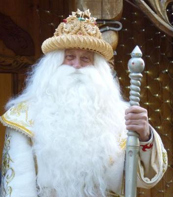 Дед мороз из Беловежской Пущи