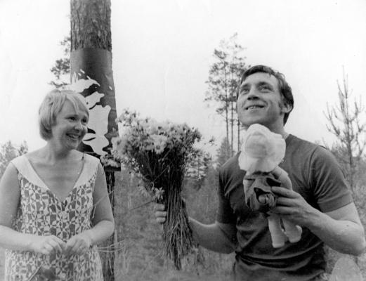 Владимир Высоцкий и Галина Астафьева, 1972 год