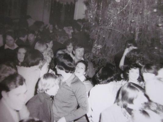 Встреча нового 1980 года в клубе