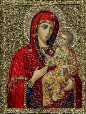 Икона Пресвятой Богородицы «Иверская-вратарница»