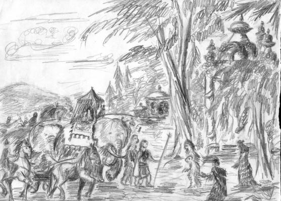 Исход Рамы из Гипербореи в Индию