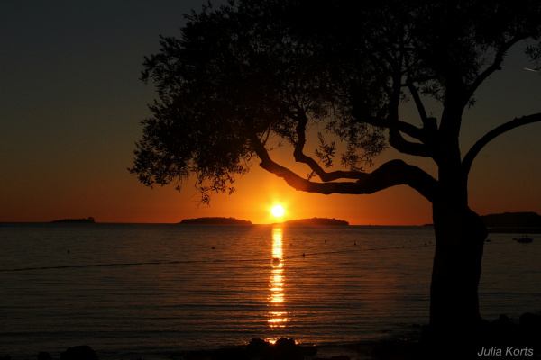Хорватский закат