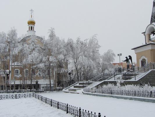 В городе Мирном