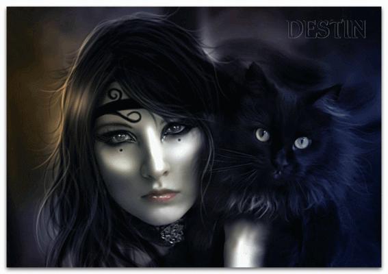Ведьма.