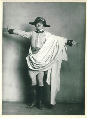 Александр Вертинский в образе Наполеона