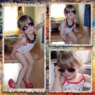 моя внучка