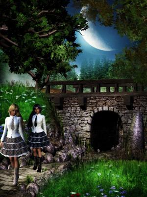 Близняшки Лекс в замке Хилкровс
