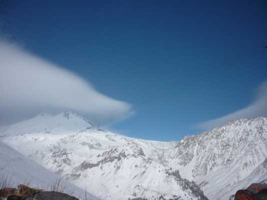 Зима на Эльбрусе