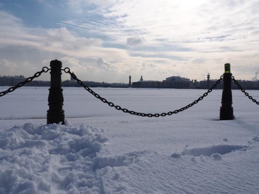 Питерская зима.