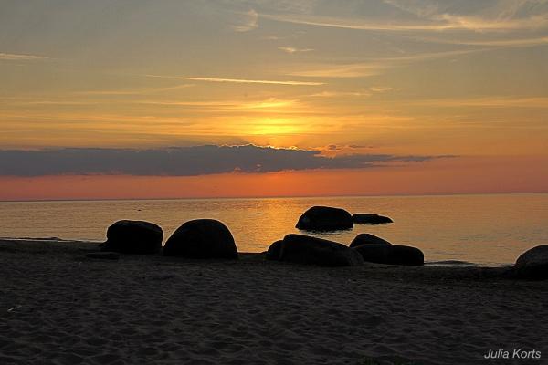 Закат на Балтике,Эстония