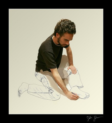 Себя рисуя
