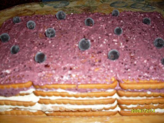 Тортик фруктово-творожный