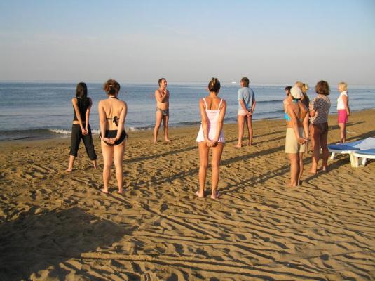 Пляж тренинг