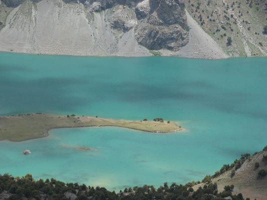 Таджикистан, Фанские горы.