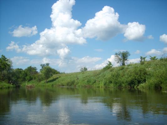 Река Выша! Между Мордвой и Пензенской губернией