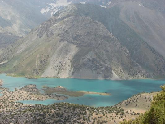 Таджикистан , Фанские горы.