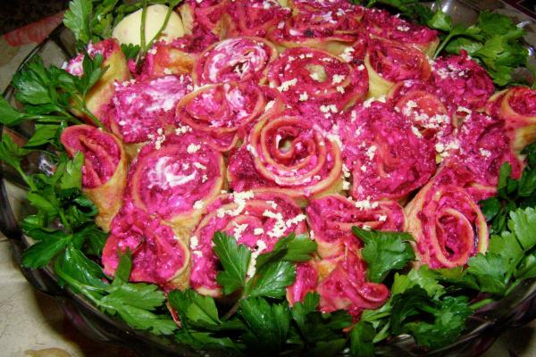 Любимый салат со свеклой!