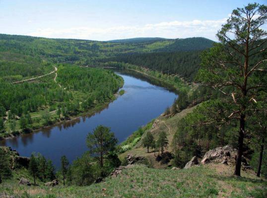Река Ингода, Забайкальская природа