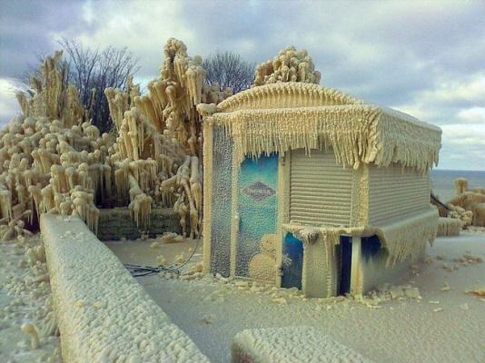 Зима в Эстонии
