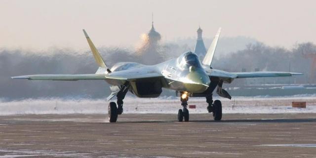 Новые истребители Т-50 скоро начнут поступать на вооружение российской армии