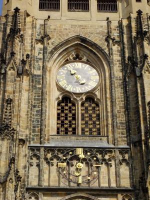 Часы Собора Св.Вита. Прага
