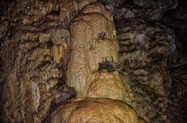 Новоафонские пещеры в Абхазии.